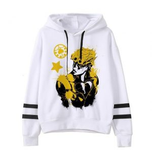 JoJo's Bizarre Adventure - Giorno Giovanna Aesthetic Hoodie Jojo's Bizarre Adventure Merch