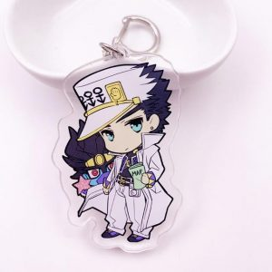 JoJo's Bizarre Adventure - Jotaro x Stand Part 4 Chibi Keychain Jojo's Bizarre Adventure Merch