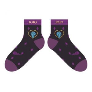 JoJo's Bizarre Adventure - Giorno Giovanna x Gold Experience Socks Jojo's Bizarre Adventure Merch