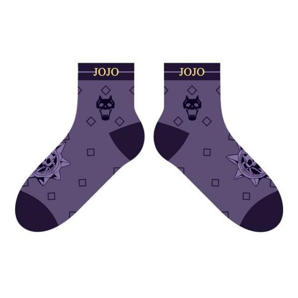JoJo's Bizarre Adventure - Kira Yoshigake x Killer Queen Socks Jojo's Bizarre Adventure Merch