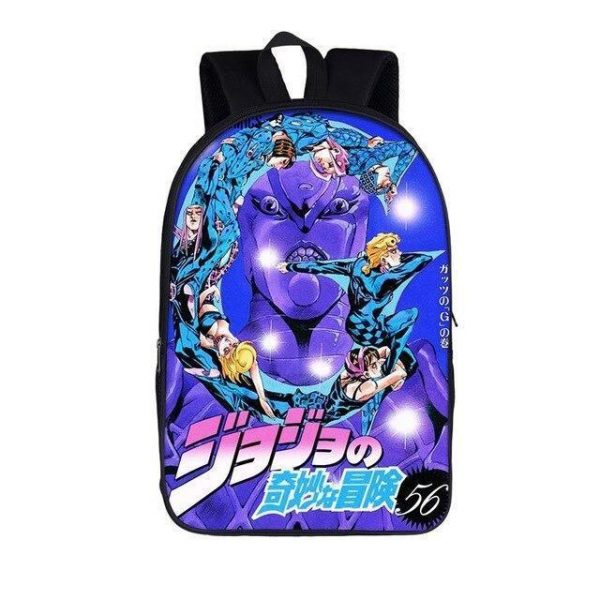JoJo's Bizarre Adventure - The G in Guts Backpack Jojo's Bizarre Adventure Merch