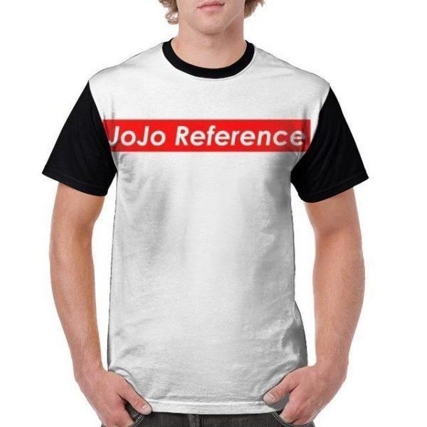 JoJo's Bizarre Adventure - JoJo Reference T-shirt-jojo Jojo's Bizarre Adventure Merch