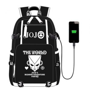 JoJo's Bizarre Adventure - The World Stand Backpack Jojo's Bizarre Adventure Merch