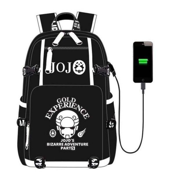 JoJo's Bizarre Adventure - Gold Experience Stand Backpack Jojo's Bizarre Adventure Merch