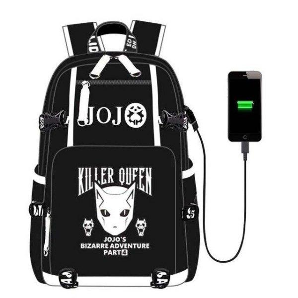 JoJo's Bizarre Adventure - Killer Queen Stand Backpack Jojo's Bizarre Adventure Merch