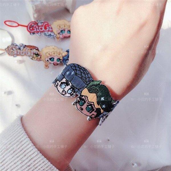 JoJo's Bizarre Adventure - Josuke Higashikata x Rohan Kishibe Bracelet Jojo's Bizarre Adventure Merch