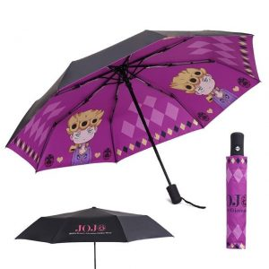 JoJo's Bizarre Adventure  Giorno Giovanna Umbrella Jojo's Bizarre Adventure Merch
