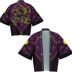 Anime JOJO JoJo s Bizarre Adventure Cosplay Costumes Jotaro Kujo Cosplay Coat Kira Yoshikage weaving Cloak 2 - Jojo's Bizarre Adventure Merch